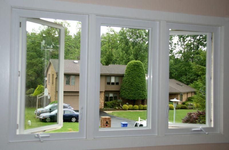 Modern casement windows design
