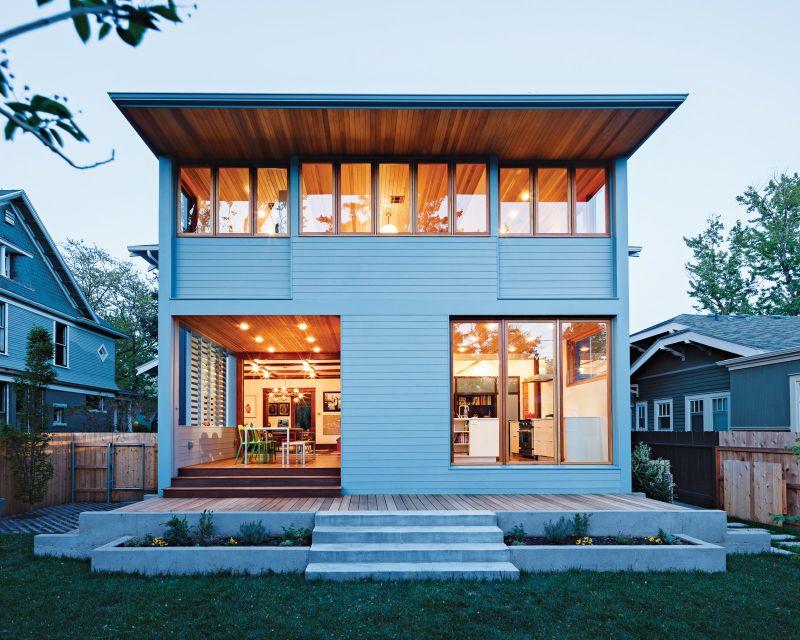 Modern clerestory windows design