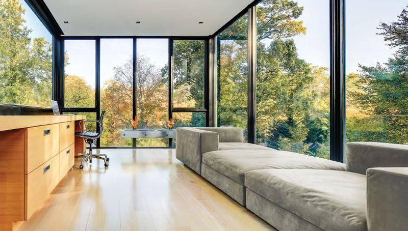 Modern picture windows design