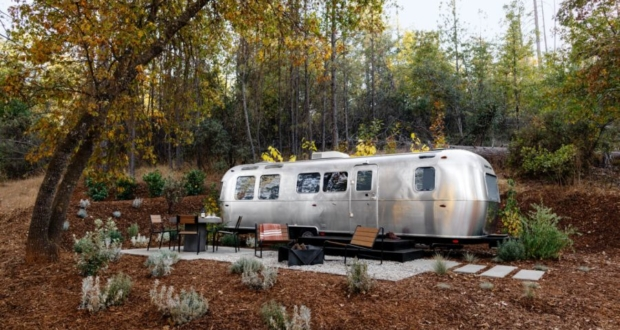 Autocamp Custom Airstream trailers in California