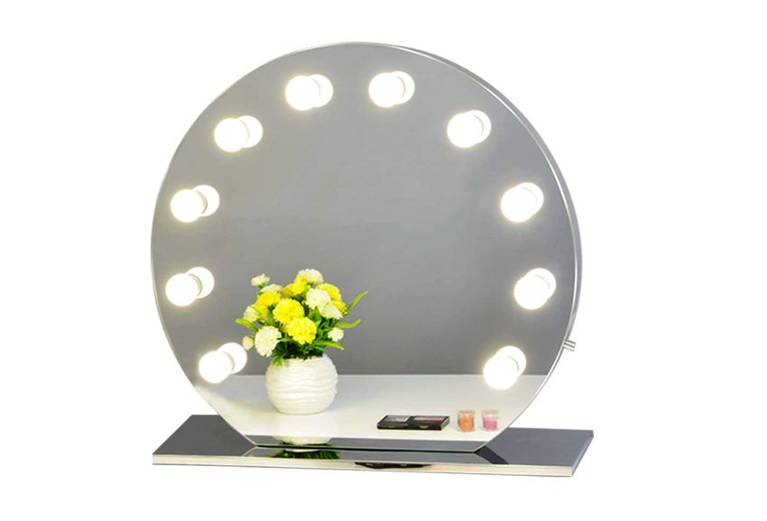 Chende Hollywood Vanity Mirror wit hLED dimmable bulbs -Gifts for mom