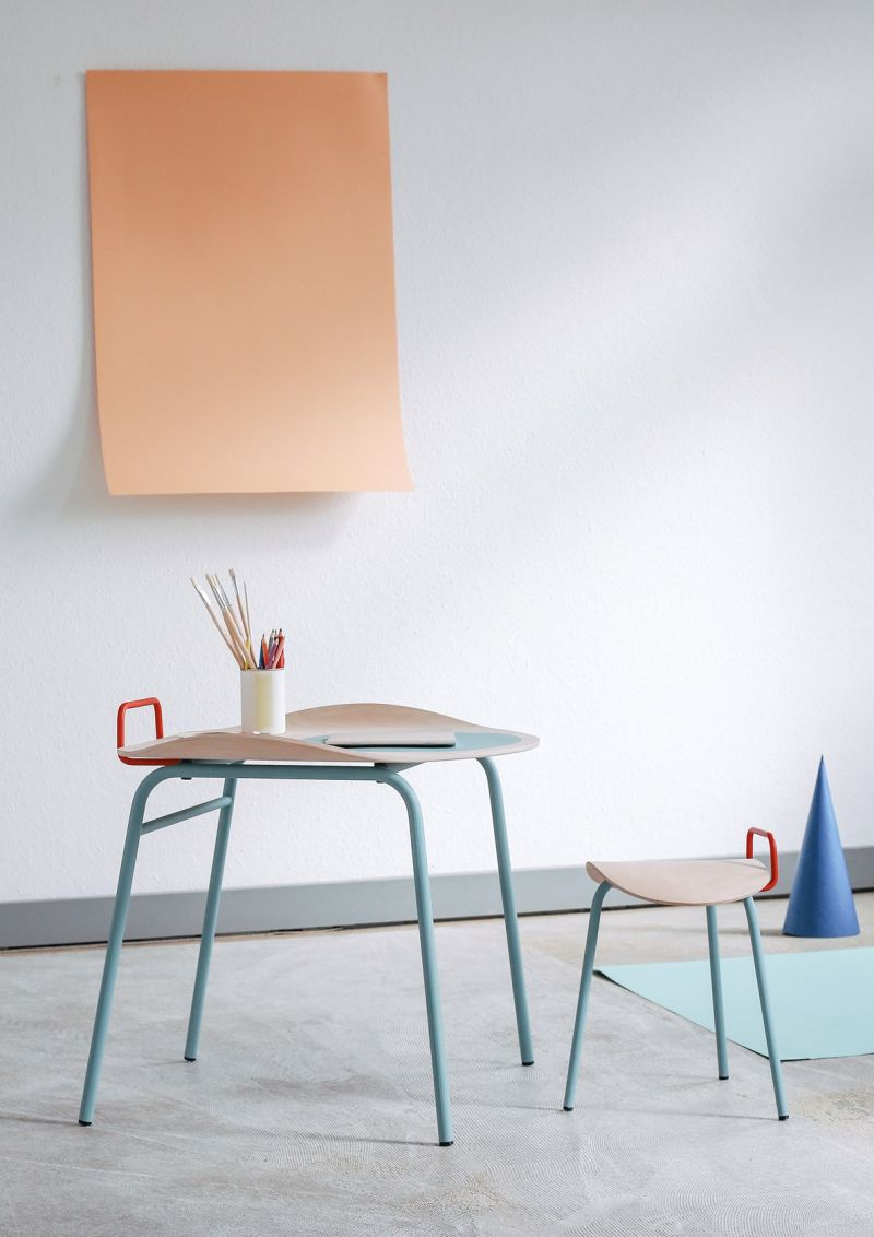 Cléo flexible furniture by Julian Ribler