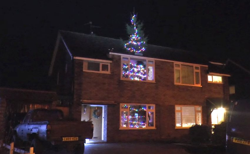 26ft Christmas Tree Going Through A House Colin Furze S Diy
