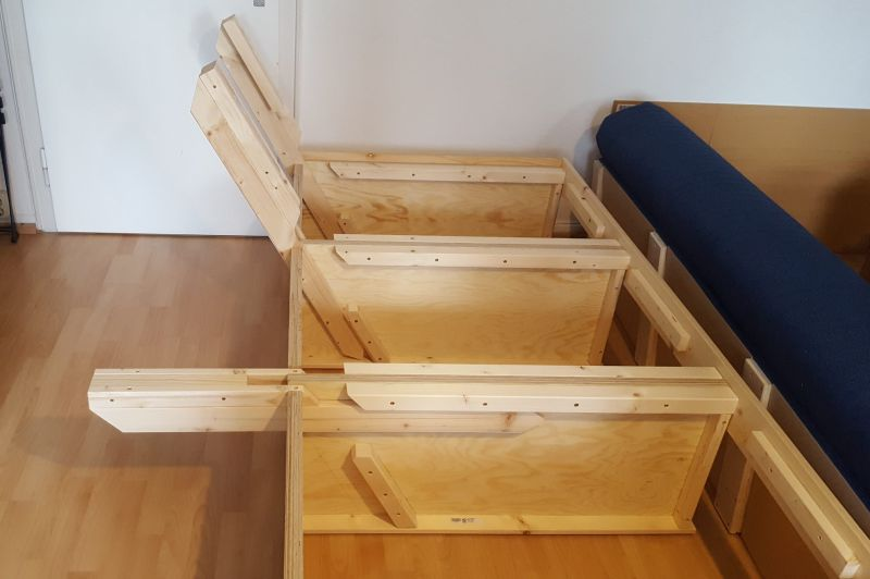 Diy convertible sofa bed with storage - What is a sofa bed ...