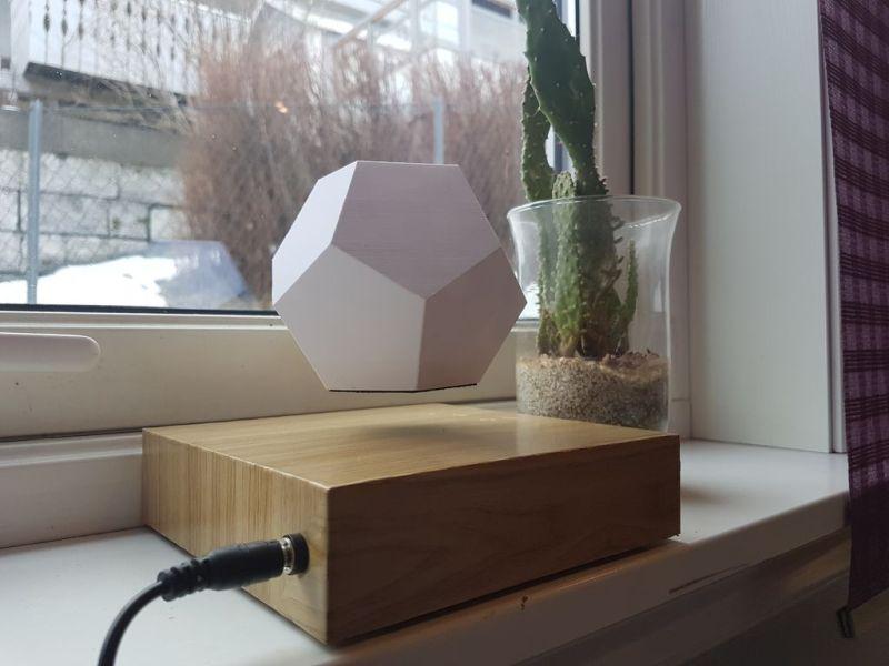 DIY'er Shows How to Make 3D-Printed Levitating Planter
