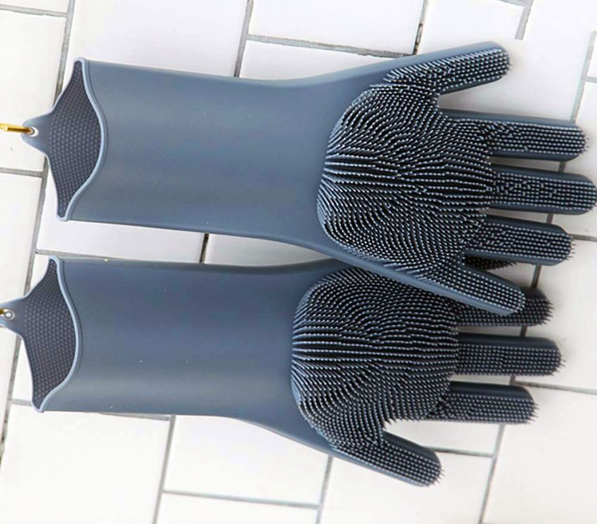 Dishwashing Scrubber Gloves For Cleaning Dishes Amp More