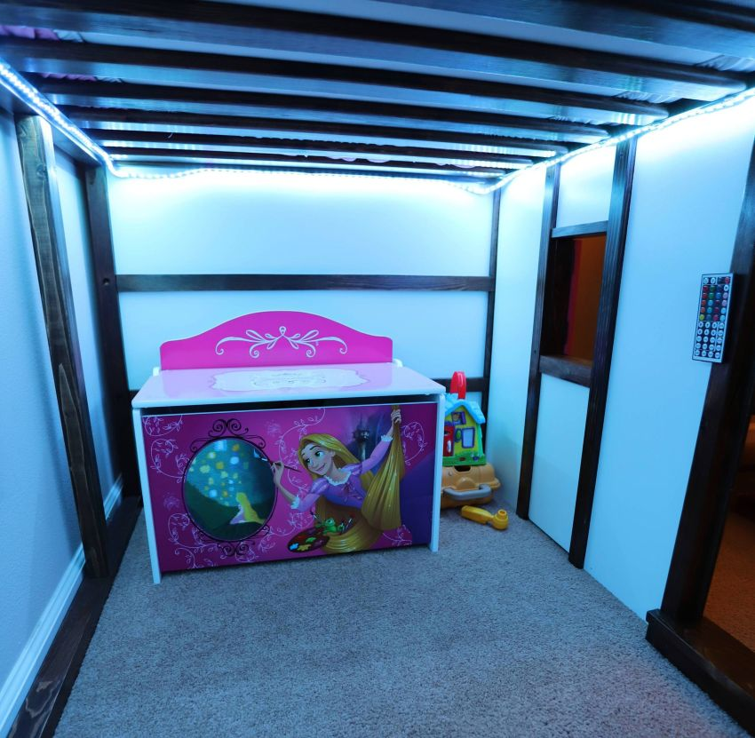 Eric Strong Fairy Princess Castle Bed - Bunk Bed Kids Furniture
