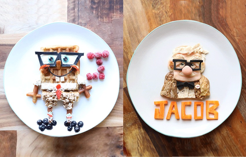 Food Art by Laleh Mohmedi