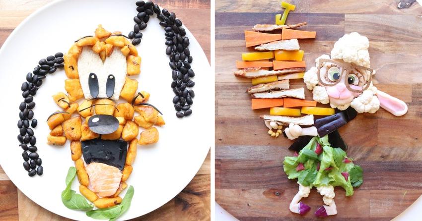 Food Art by Laleh Mohmedi