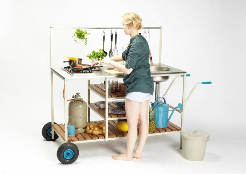 Godbit outdoor kitchen by Larissa Siemon and Lena Ohmstede