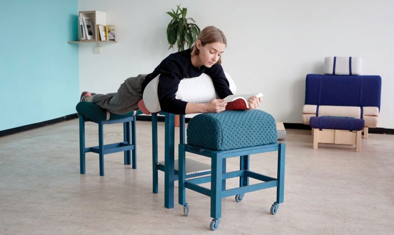 Grafeiophobia Furniture for Those Who Like to Work from Bed