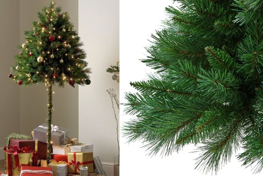 Half Christmas Tree Is A Good Idea Your Cat's Going To Hate