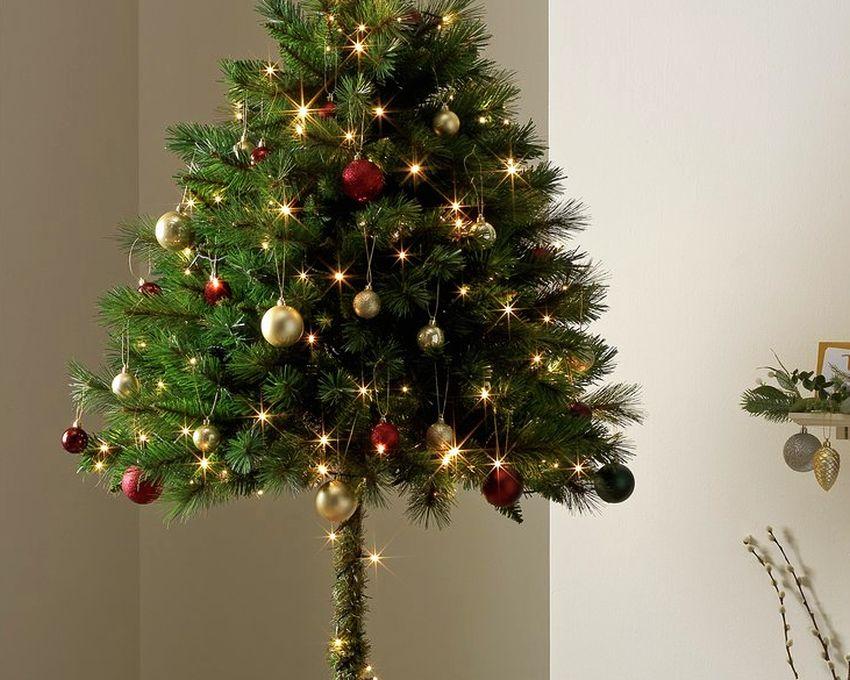 Half Parasol Christmas Tree