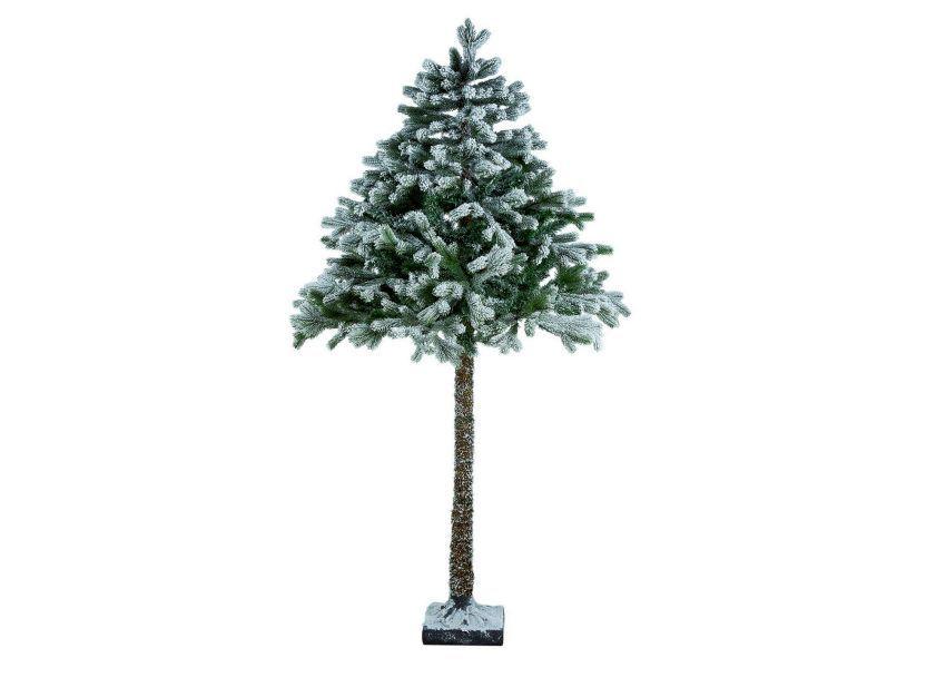 Half Snowy Christmas Tree