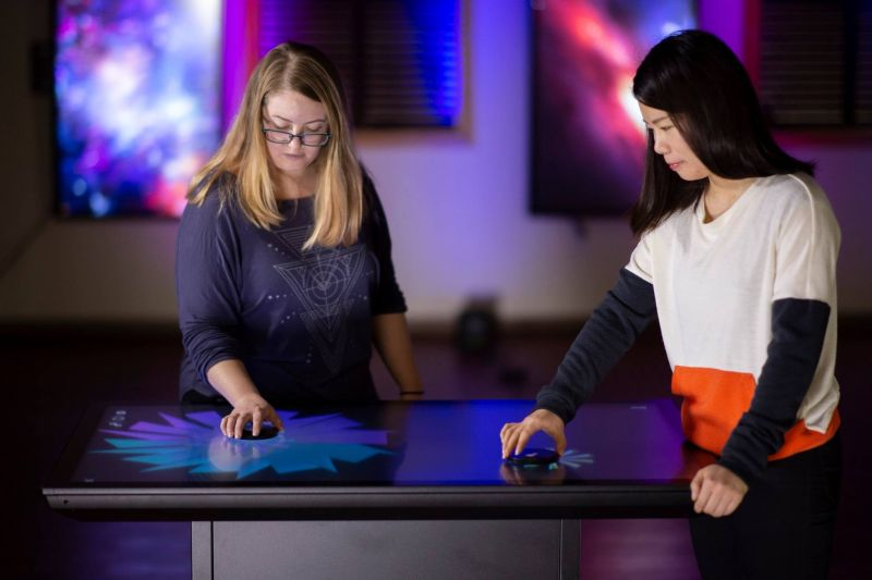 Ideum's Platform II Multitouch Table with Integrated Computer