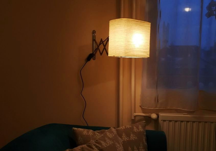 Ikea Frack Hack- Wall-Mounted Reading Light