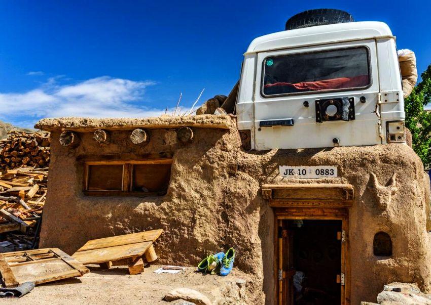 Mahindra Jeep Rooftop Ladakh - Sonam Wangchuk