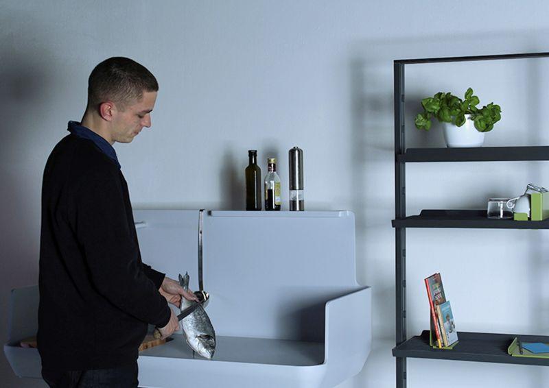 Modern kitchen by Peter Sorg