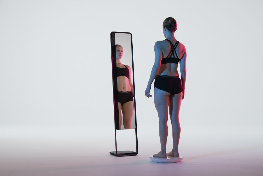 Maybe Get Naked, The 3D Fitness Tracker Mirror and Scale