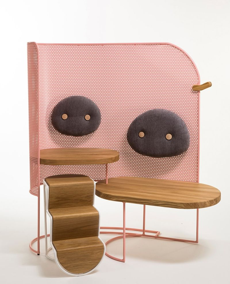 Piggo modular seating for children by Mor Dagan