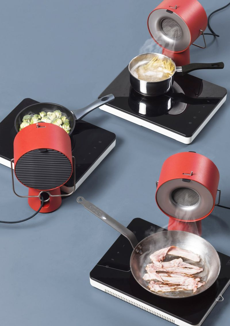 Portable kitchen hood by Maxime Augay