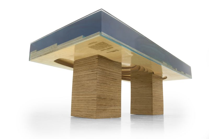 Robben Island Coffee Table by Shift Perspective