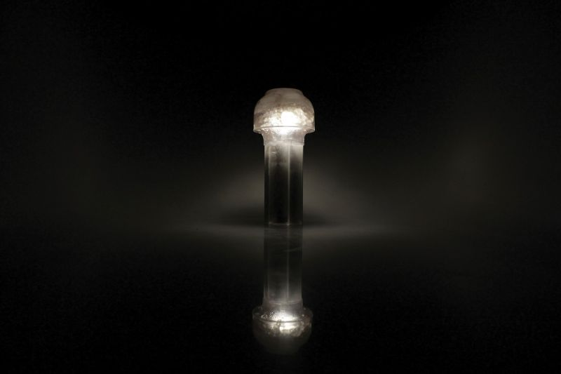 SALT self-sufficient, eco-friendly and recyclable side lamp by Bastian Tharich