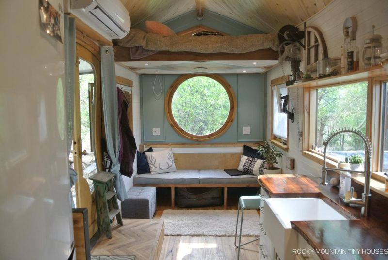 San Juan Tiny Home by Rocky Mountain Tiny Houses