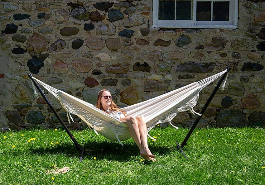 Space Saving Vivere Double Hammock
