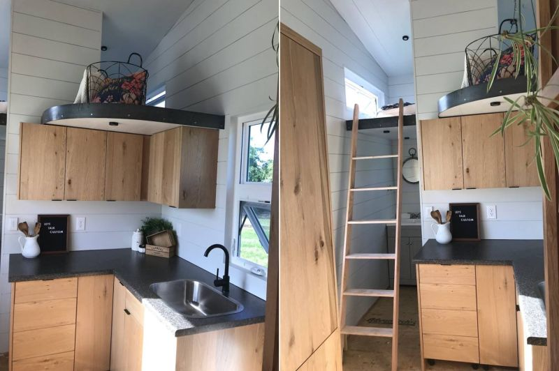 69k Tiny House on Wheels with Main floor Bedroom