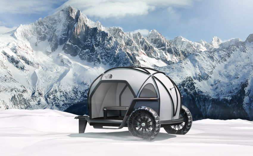 BMW's Designworks Showcases FUTURELIGHT Concept Camper at CES 2019