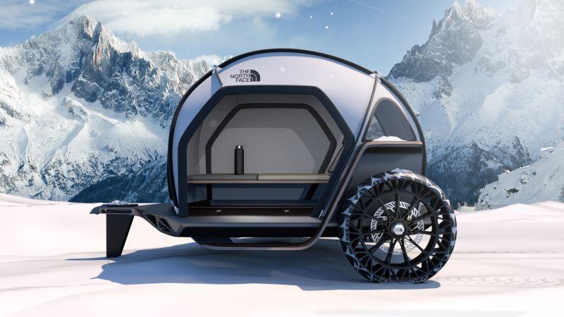 BMW's Designworks Showcases FUTURELIGHT Concept Camper at CES 2019