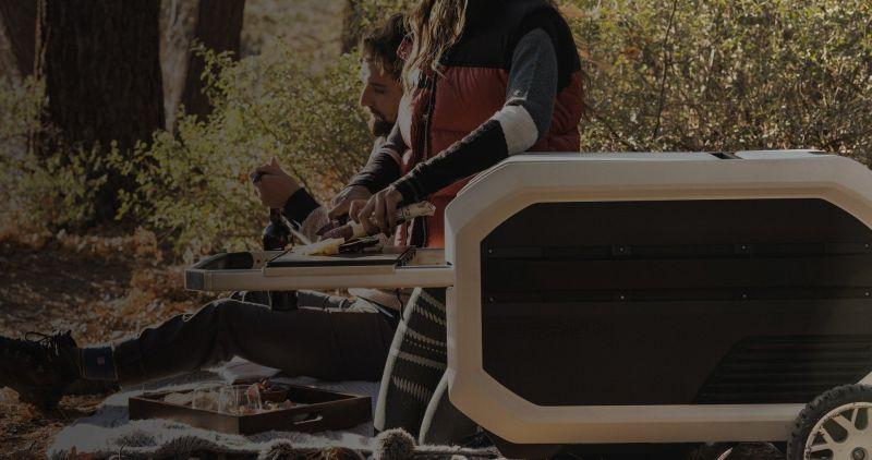 Furrion ROVA Portable Cooler at CES 2019