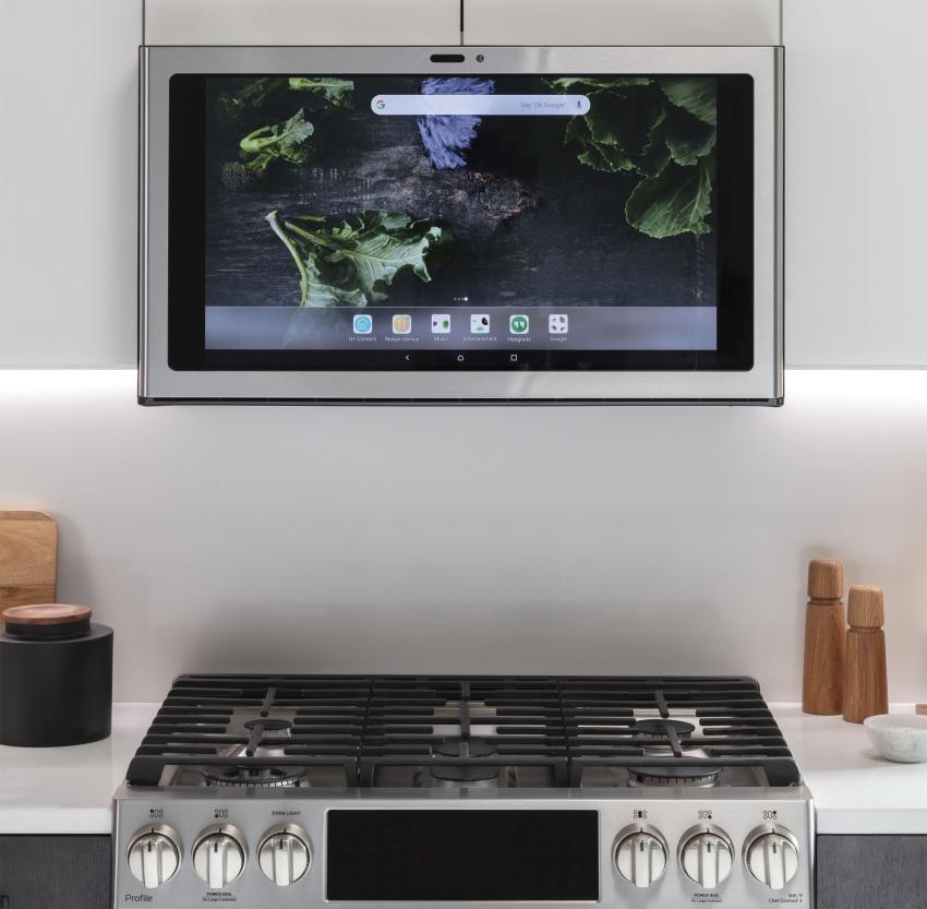 GE Appliances Kitchen Hub – Smart Range Hood