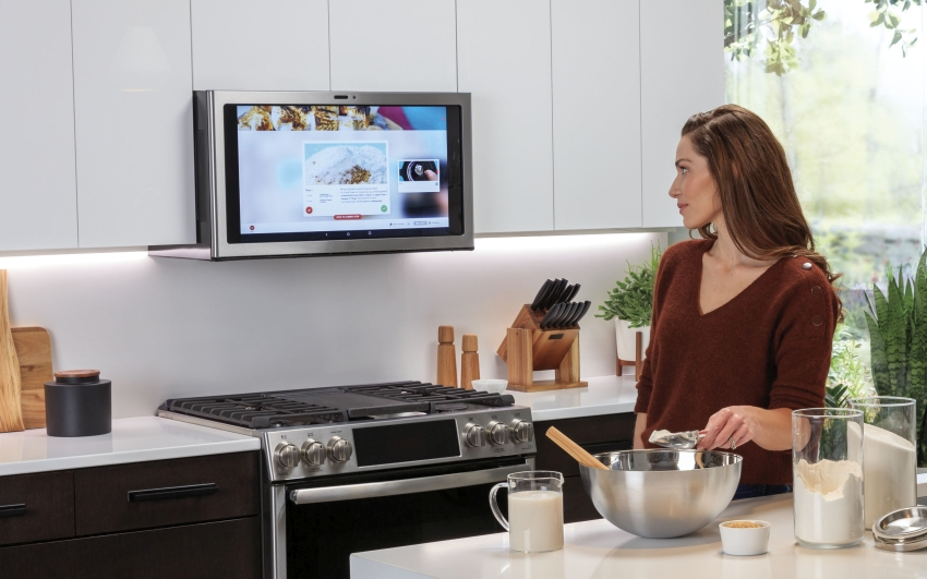 GE Appliances Kitchen Hub – Smart Range Hood - CES 2019