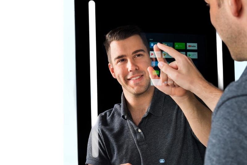 Google Assistant Powered Capstone Smart Mirror CES 2019