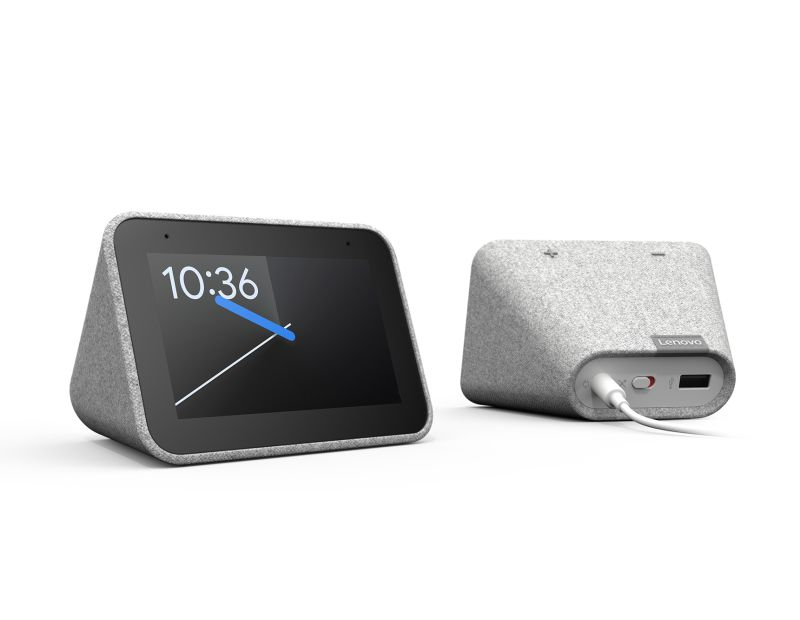 Lenovo Showcases Google Assistant-Powered Smart Clock at CES 2019