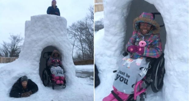 Handicap accessible Igloo by Gregg Eichhorn - DIY