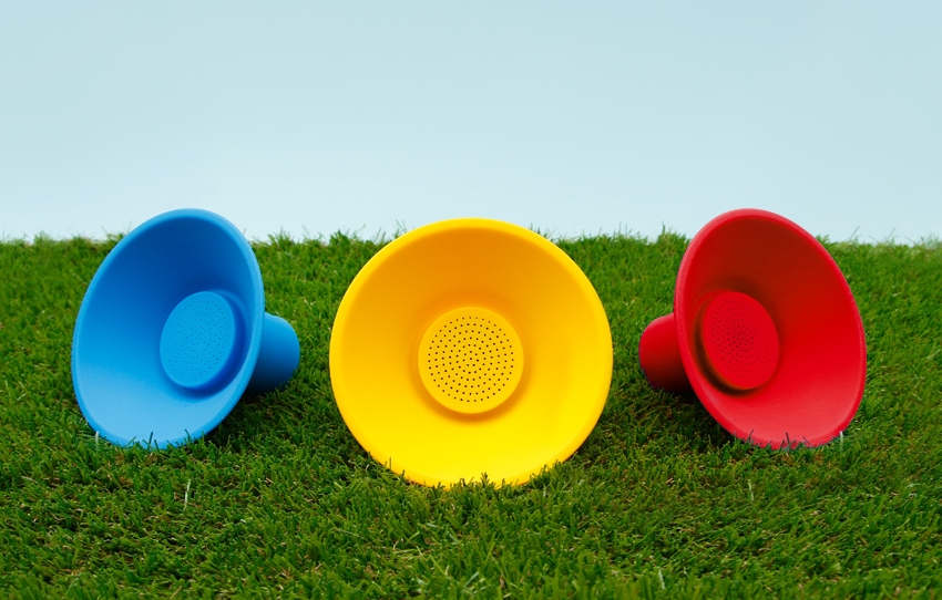 Icon Speaker - Wireless Portable Speaker by Suck UK