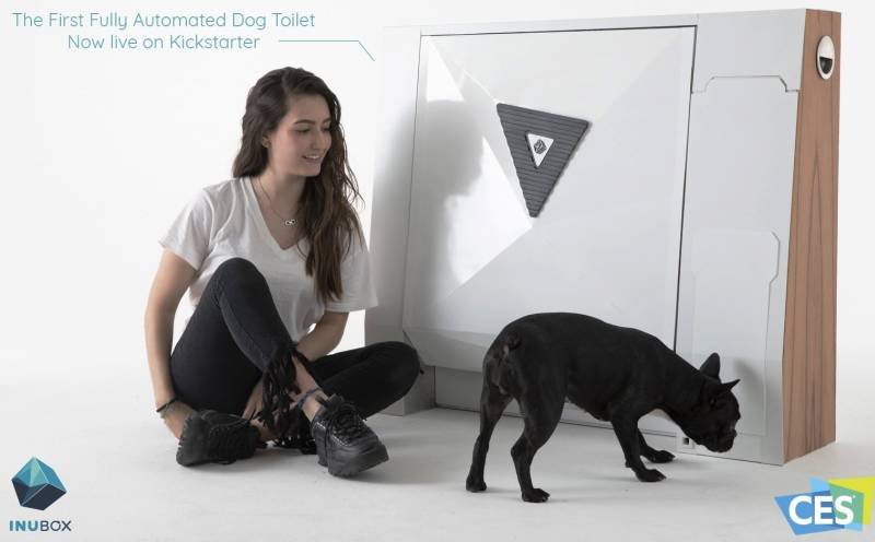 Inubox Automated Dog Toilet