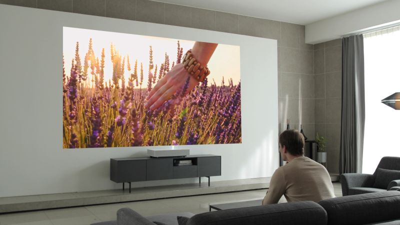 LG Showcasing HU85L CineBeam Laser 4K Projector at CES 2019