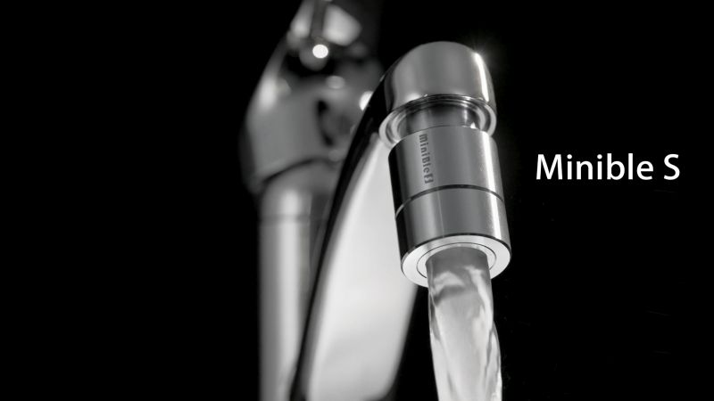 MiniBle S Nanobubble Faucet Aerator Offers Fast and Deep Cleansing