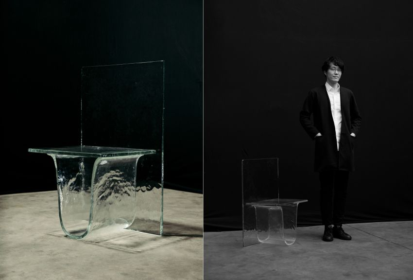 Nendo and WonderGlass Join Hands for Melt Glass Furniture Collection