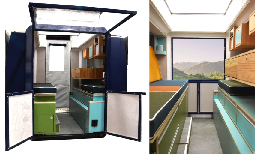 Plugvan Camper Van Module - House on Wheels