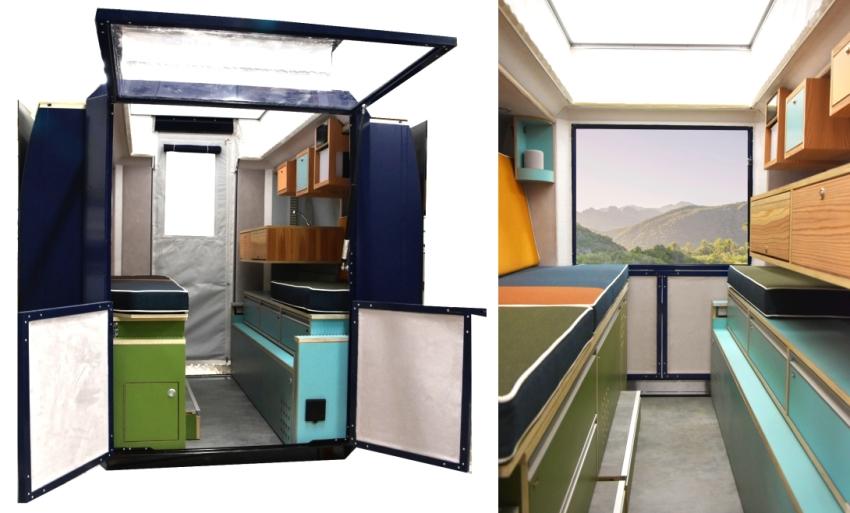 Plugvan Camper Van Module - House on Wheels