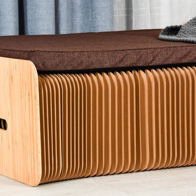 Pro Idee S Cardboard Paper Bed Folds Up Into Bench Quickly