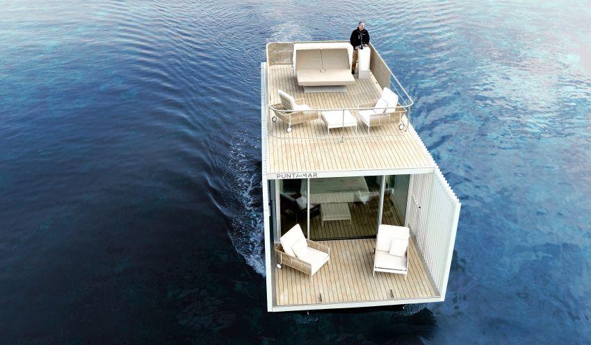 Punta de Mar Houseboat: Innovative Concept for Floating Hotel