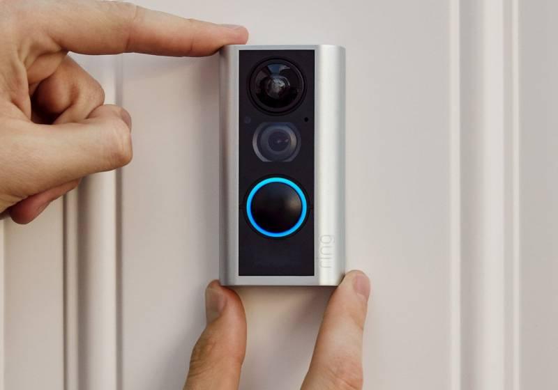 Ring Door View Cam Video Doorbell-2