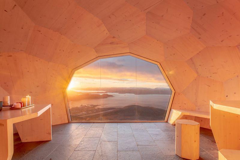 SPINN Arkitekter Builds Daytrip Hiking Cabins in Hammerfest, Norway