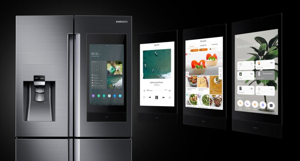 Samsung Family Hub Refrigerator With Bixby Debuts At Ces 2019